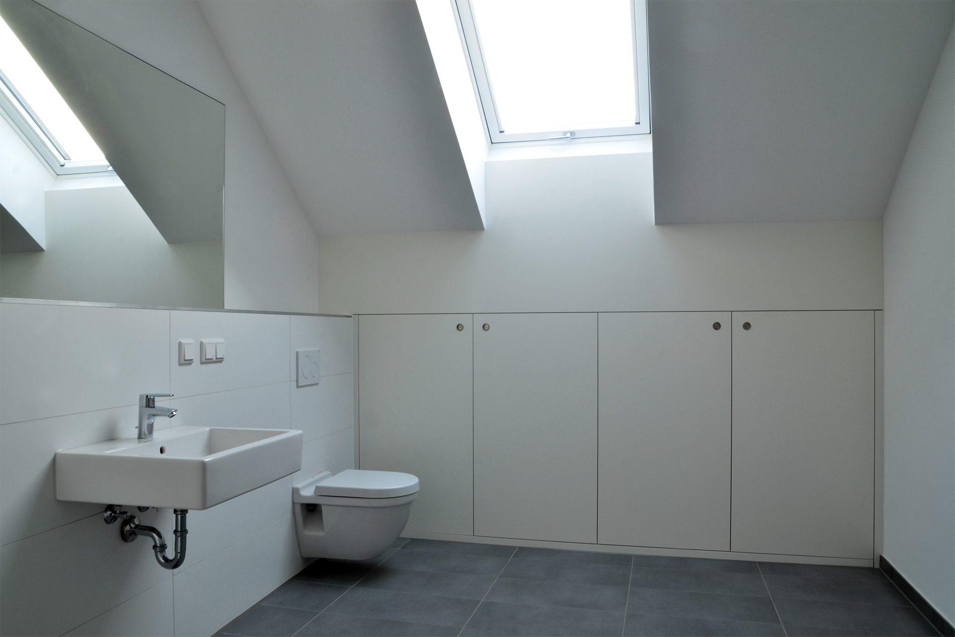 "Strobel Architekten | Projekt ""Haus MES 13"" Bad"