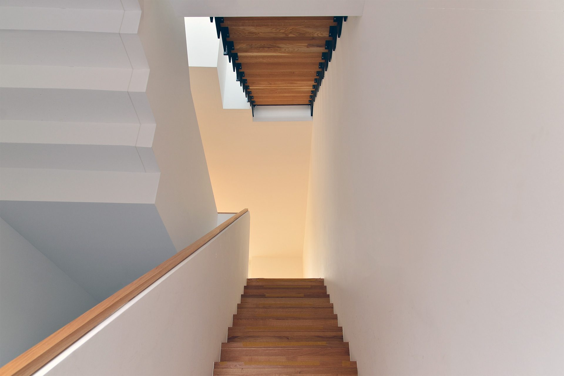 "Strobel Architekten | Projekt ""Haus MES 13"" Treppenhaus"
