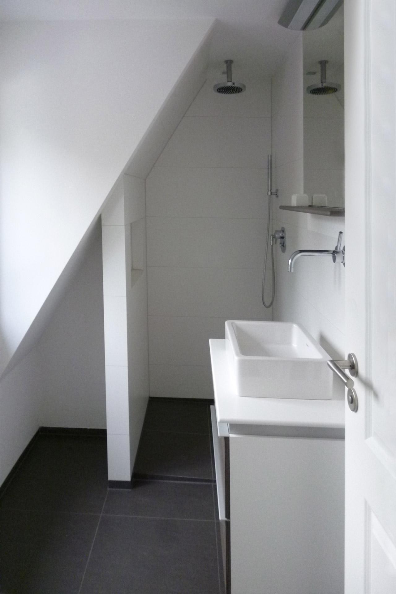 """Strobel Architekten   Projekt """"Haus ASH01"""" Duschbad"""