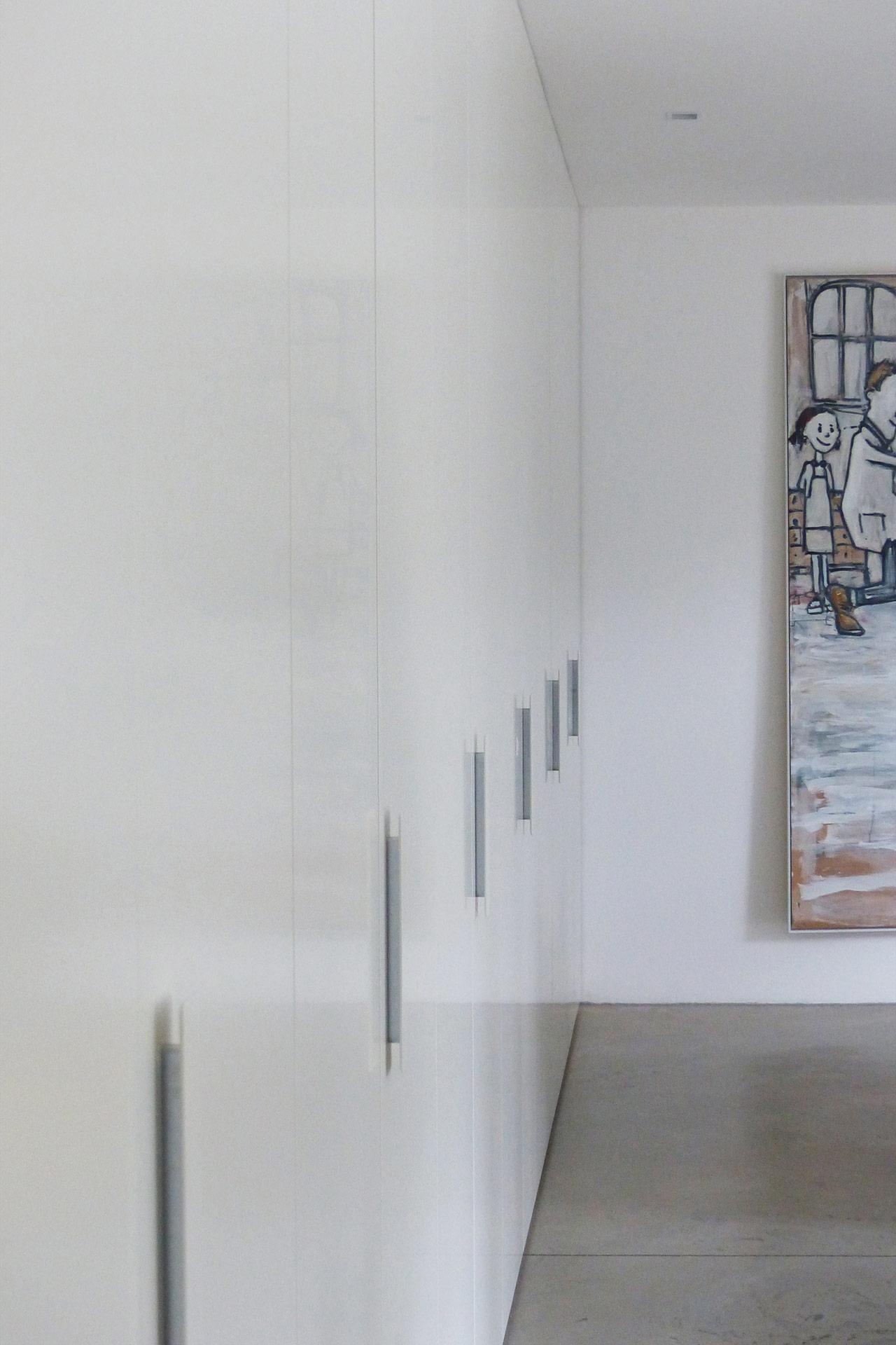 """Strobel Architekten   Projekt """"Haus ASH01"""" Flur"""