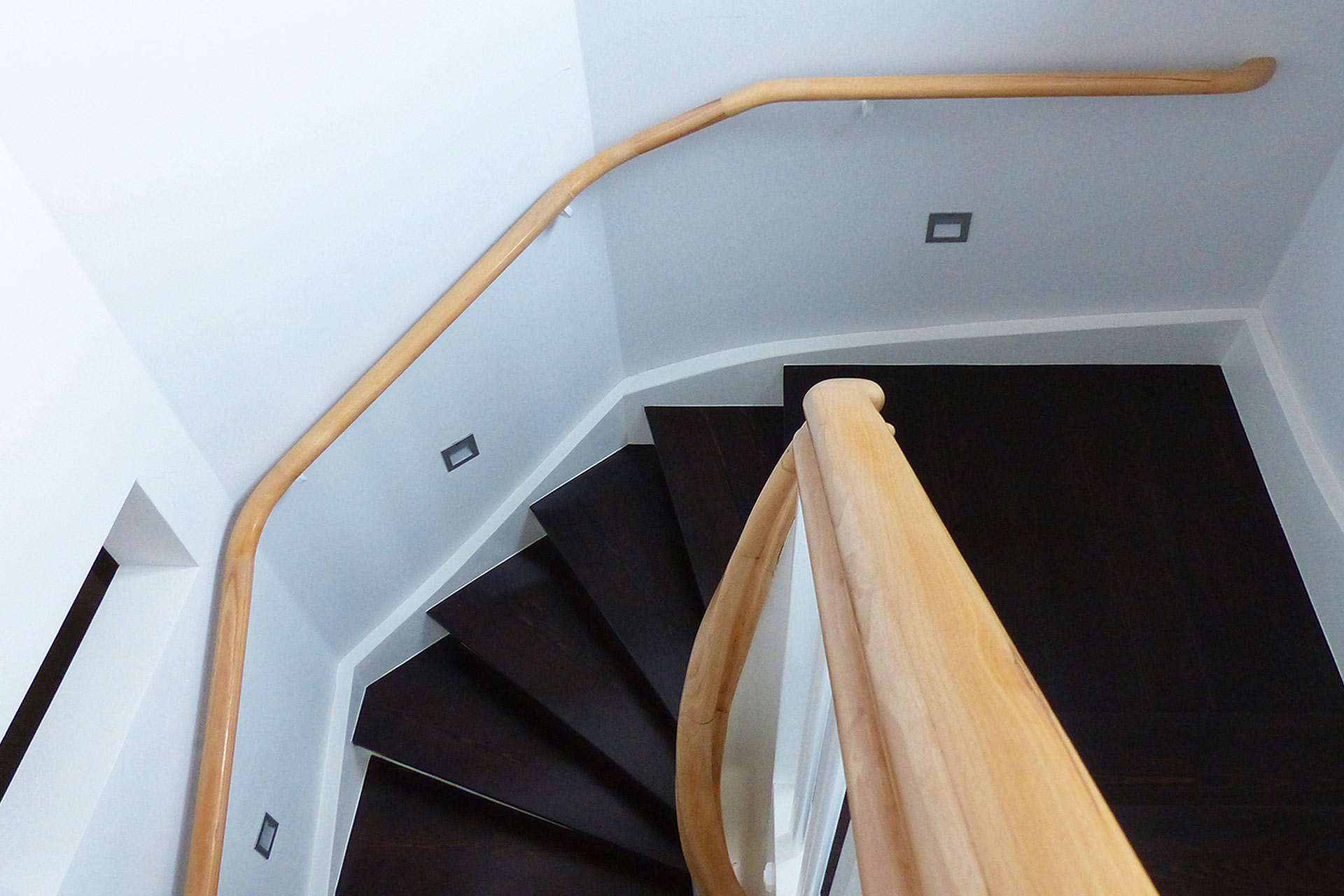 "Strobel Architekten | Projekt ""Haus ASH01"" Treppe"