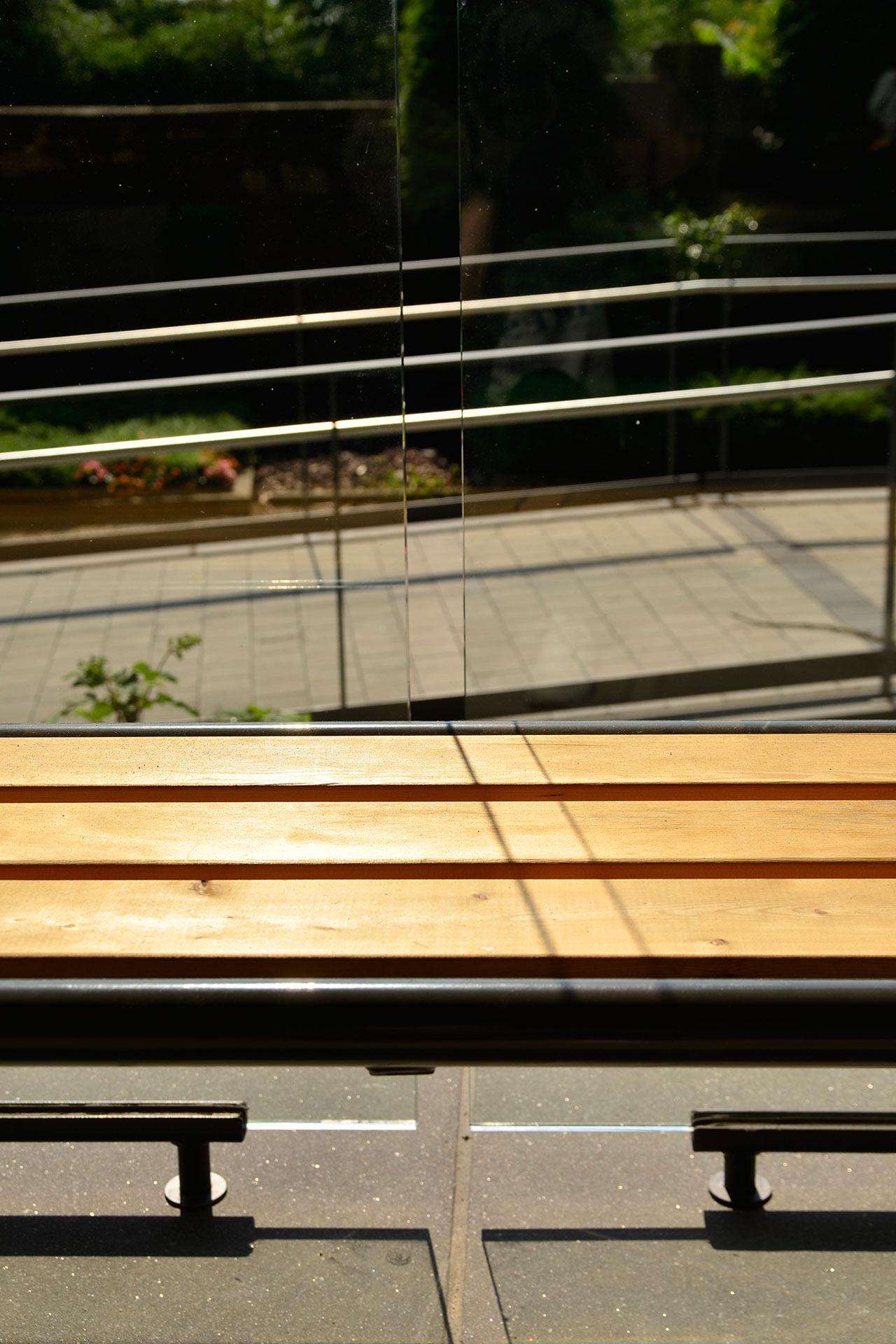 "Strobel Architekten | Projekt ""Trauerpavillon"" Materialitaet"